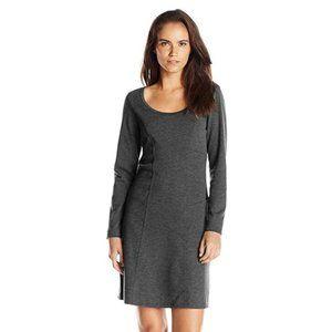 Prana Soskia Long Sleeve Grey Dress